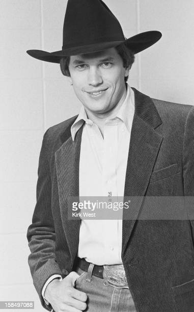 George Strait backstage publicity shoot December 7 1980
