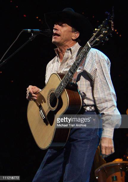 George Strait during George Strait in Concert at the MCI Center in Washington DC June 2 2003 at MCI Center in Washington DC United States