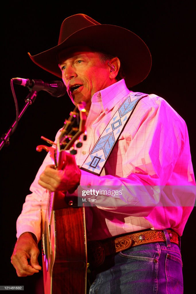 George Strait during The Inaugural Stagecoach Country Music Festival - Day 1 at Empire Polo Field in Indio, California, United States.