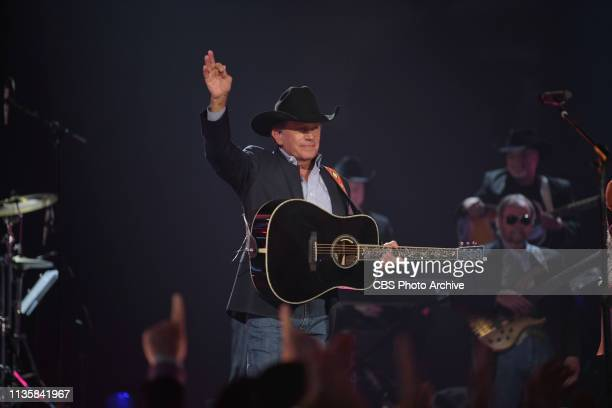 George Strait performs during the 54TH ACADEMY OF COUNTRY MUSIC AWARDS to broadcast LIVE from MGM Grand Garden Arena in Las Vegas Sunday April 7 2019...