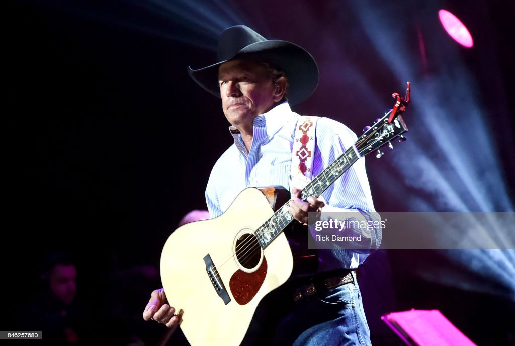 George Strait With Special Guests Miranda Lambert, Chris Stapleton, Lyle Lovett And Robert Early Keen At Hand In Hand Texas Benefit Concert