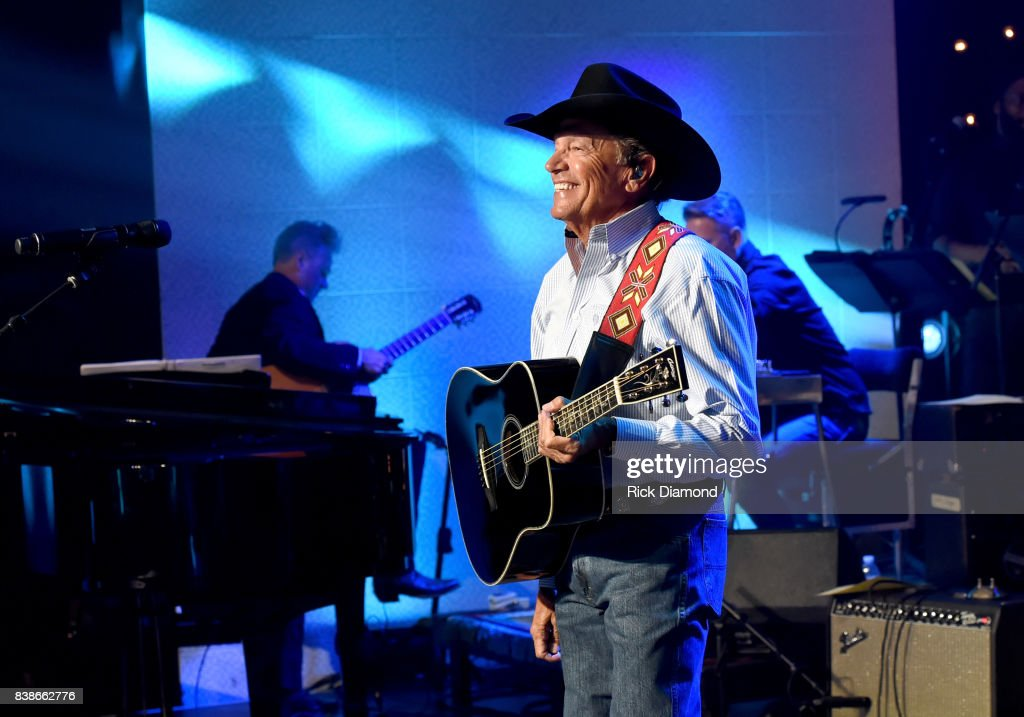 George Strait performs onstage during Skyville Live Presents a Tribute to Jerry Lee Lewis on August 24, 2017 in Nashville, Tennessee.