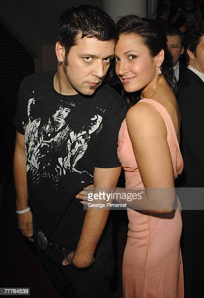 George Stroumboulopoulos Sitra Hewitt attend The 22nd Annual Gemini Awards at the Conexus Arts Centre on October 28, 2007 in Regina, Canada.