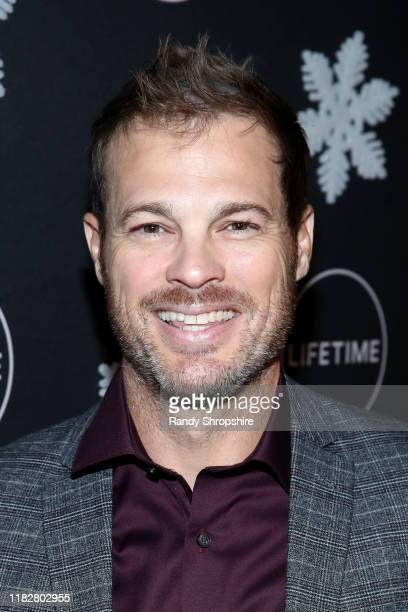 "George Stults attends It's a Wonderful Lifetime"" first holiday party of the year at STK Los Angeles on October 22 2019 in Los Angeles California"
