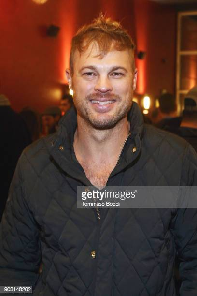 George Stults attends the Special Screening Of 12 Strong For MVP's Military Veterans at ArcLight Hollywood on January 9 2018 in Hollywood California