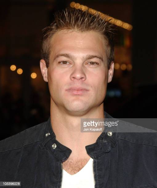 George Stults during Constantine Los Angeles Premiere Arrivals at Grauman's Chinese Theater in Hollywood California United States