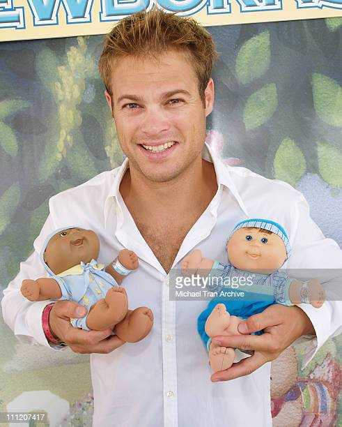George Stults during Silver Spoon Buffet at the Cabbage Kids Newborns Booth Day 1 at Wattles Mansion in Hollywood California United States