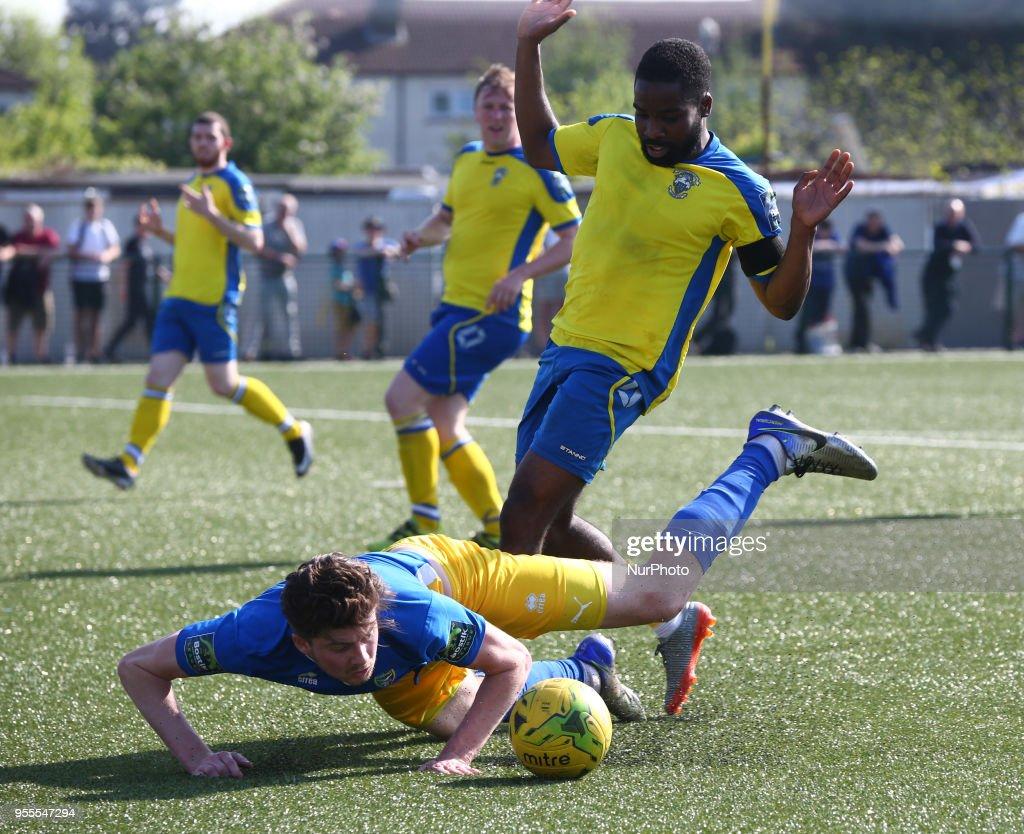 Haringey Borough FC v Canvey Island - The Bostik North Play Off Final : News Photo