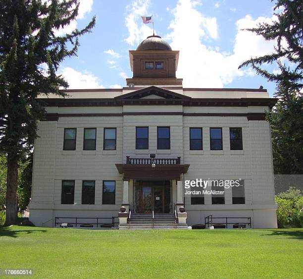 CONTENT] George T Beardslee was the architect of this lovely eastern Nevada courthouse built from 1908 to 1909 by contractors R E Dodson and G W...