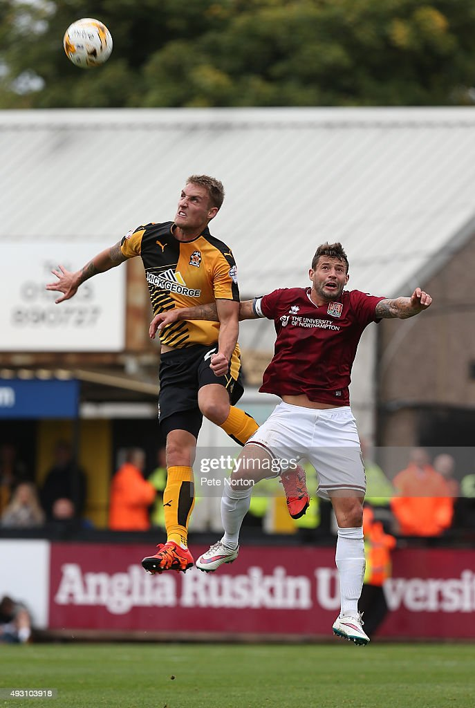 Cambridge United v Northampton Town - Sky Bet League Two : News Photo