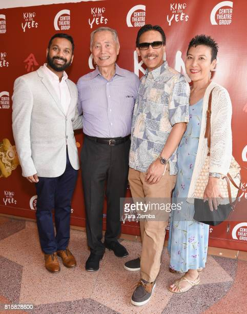 George Takei and guests attend opening night of 'King Of The Yees' at Kirk Douglas Theatre on July 16 2017 in Culver City California