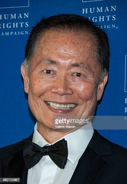 George Takei arrives at the Human Rights Campaign Los Angeles Gala Dinner at JW Marriott Los Angeles at LA LIVE on March 22 2014 in Los Angeles...