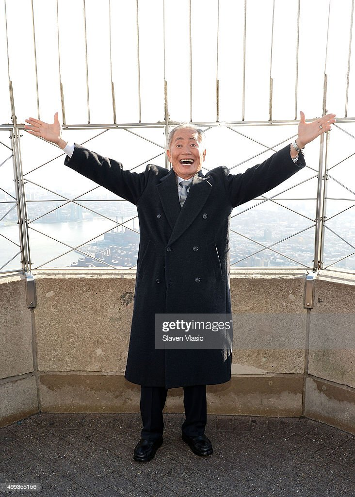 Whoopi Goldberg And George Takei Light The Empire State Building In Honor Of World AIDS Day