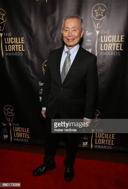George Takei attends 32nd Annual Lucille Lortel Awards at NYU Skirball Center on May 7 2017 in New York City