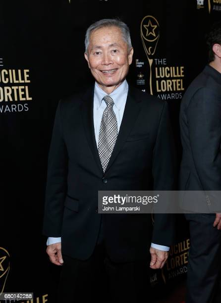 George Takei attends 32nd Annual Lucille Lortle Awards at NYU Skirball Center on May 7 2017 in New York City