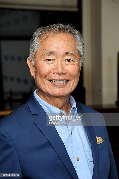 George Takei attends 92nd Street Y Presents George Takei and Jordan Roth at 92nd Street Y on September 20 2015 in New York City