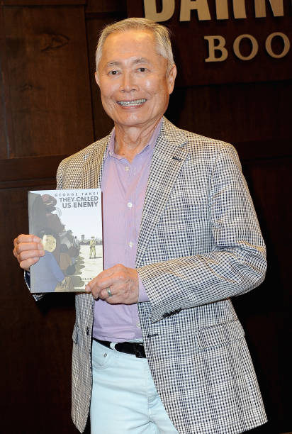 "CA: George Takei Signs Copies Of His New Book ""They Called Us Enemy"""