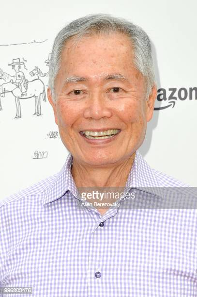 George Takei attends Amazon Studios Premiere of Don't Worry He Wont Get Far On Foot at ArcLight Hollywood on July 11 2018 in Hollywood California