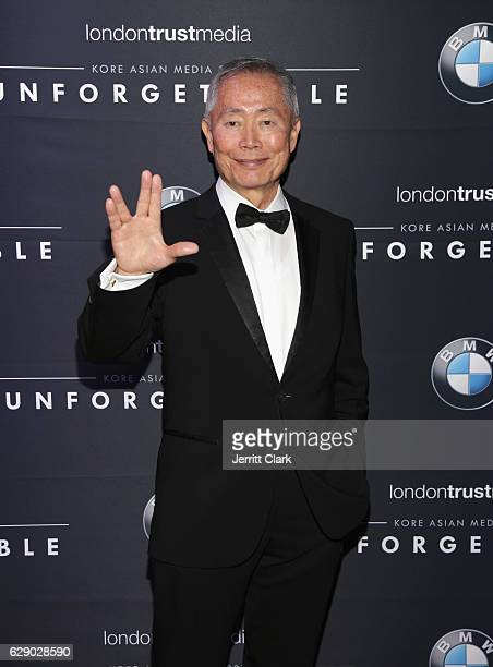 George Takei attends the 15th Annual Unforgettable Gala at The Beverly Hilton Hotel on December 10 2016 in Beverly Hills California