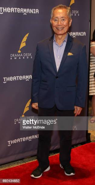 George Takei attends the 2017 Drama Desk Awards at Town Hall on June 4 2017 in New York City