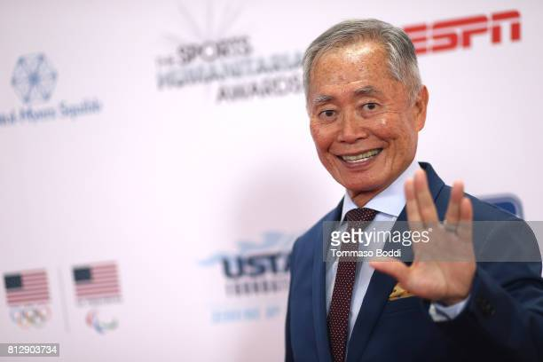 George Takei attends the 3rd Annual Sports Humanitarian Of The Year Awards at The Novo by Microsoft on July 11 2017 in Los Angeles California