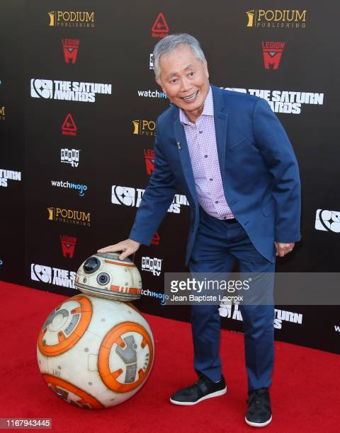 George Takei attends the 45th Annual Saturn Awards at Avalon Theater on September 13, 2019 in Los Angeles, California.