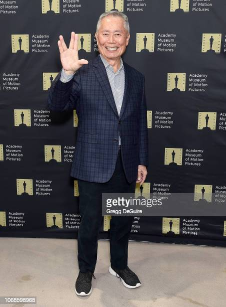 George Takei attends The Academy Museum Of Motion Pictures Unveiling of the Fully Restored Saban Building at Petersen Automotive Museum on December 4...