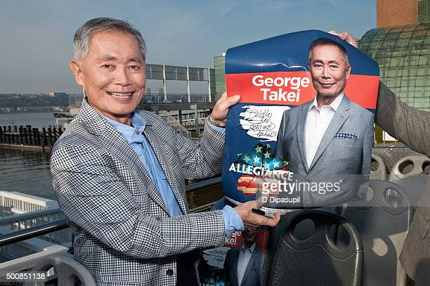 George Takei attends the George Takei Ride of Fame Induction Ceremony on December 10 2015 in New York City