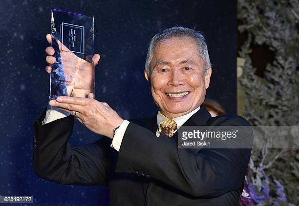 George Takei attends the HetrickMartin Institute's 30th Annual Emery Awards Help Me Imagine at Cipriani Wall Street on December 7 2016 in New York...