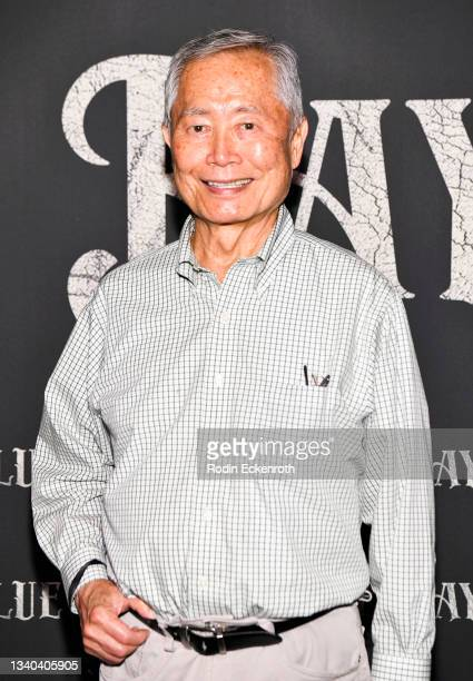 """George Takei attends the Los Angeles Premiere of Focus Features' """"Blue Bayou"""" at DGA Theater Complex on September 14, 2021 in Los Angeles, California."""