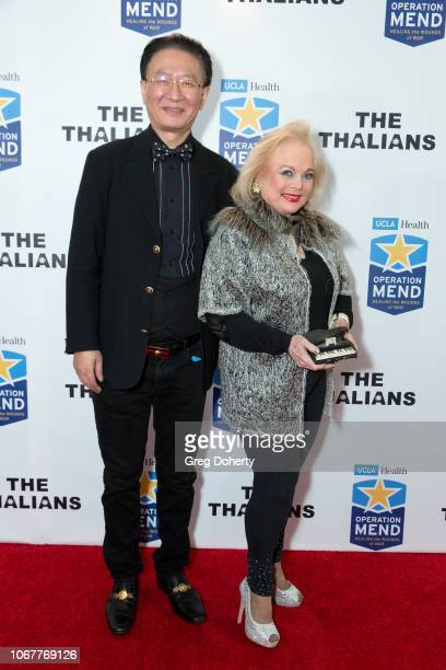 George Tao and Carol Connors attend The Thalians Holiday Party with Kira Reed Lorsch as Chair at Bel Air Country Club on December 1 2018 in Los...