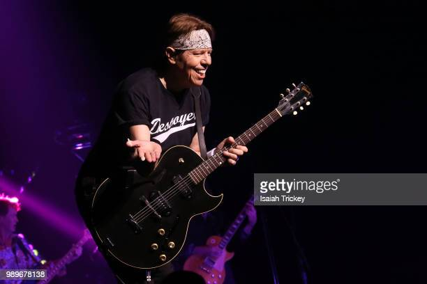 George Thorogood of George Thorogood and the Destroyers performs during the 2018 Montreal International Jazz Festival at Salle WilfridPelletier Place...