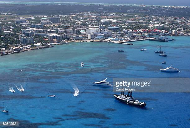 George Town pictured on 24 April 2008 in Grand Cayman Cayman Islands