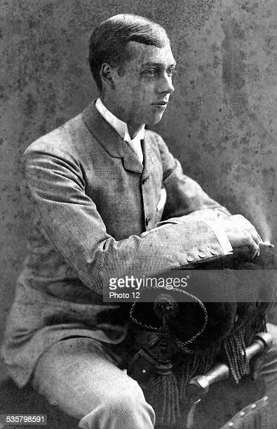 George V King of England Second son of Edward VII Brother of the Duke of Clarence King of Great Britain and Ireland from 1910 to 1936