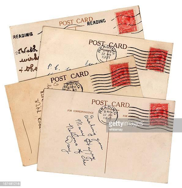 George V postcard group