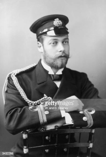 George V who became Prince of Wales in 1901 and succeeded to the throne on the death of his father, Edward VII, in 1910.