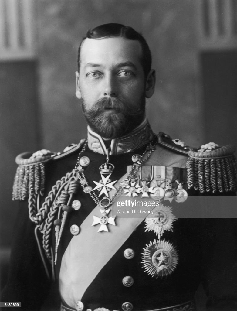 George V (1865 - 1936) who became Prince of Wales in 1901 and succeeded to the throne on the death of his father, Edward VII, in 1910.