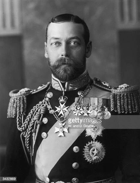 George V who became Prince of Wales in 1901 and succeeded to the throne on the death of his father Edward VII in 1910