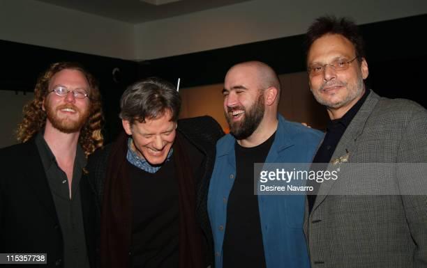 George Van Buskirk Campbell Scott Director David Newman and Paul Cohen