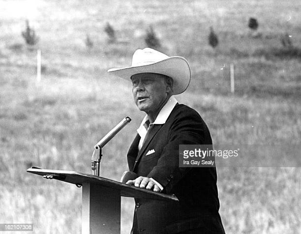 JUL 1965 821965 George Van Tassel of Grant Rock Calif ***** Speaker