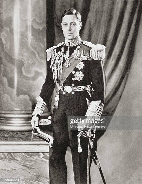George Vi, 1895 – 1952. King Of The United Kingdom. From The Coronation Of Their Majesties King George Vi And Queen Elizabeth, Official Souvenir...