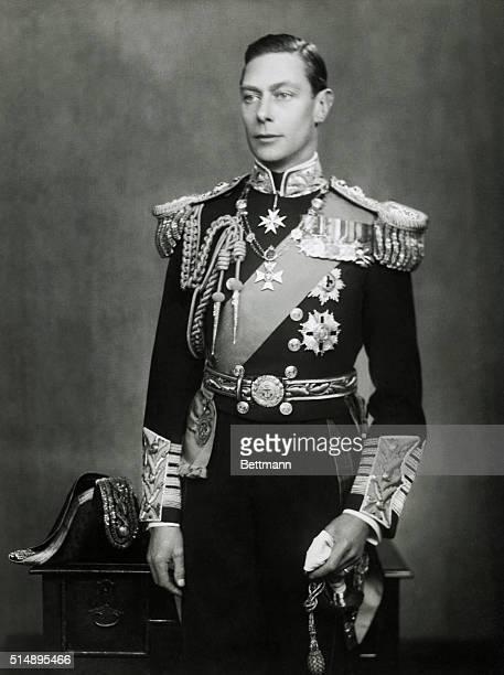 George VI: of England.