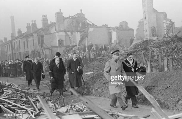 George VI visit to Birmingham.