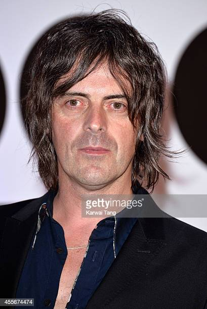 """George Vjestica attends the """"20,000 Days on Earth"""" screening at Barbican Centre on September 17, 2014 in London, England."""