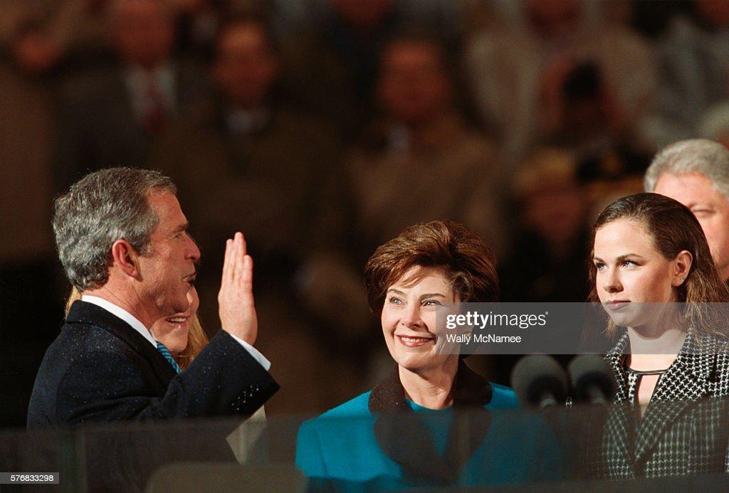 George W. Bush is Sworn In