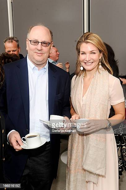 George Wachter and Eliza Osborne attend LACMA's 2013 Collectors Committee Viewing Of Proposed Acquisitions And Curatorial Presentations at LACMA on...