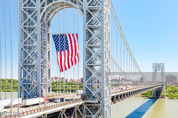 George Washington Bridge (Flag Day 2016)