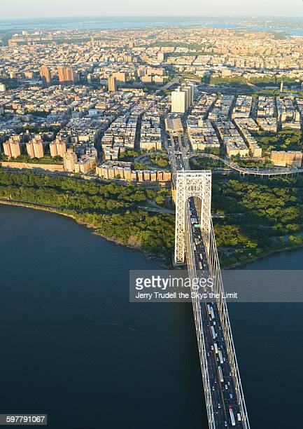 george washington bridge - george washington bridge stock pictures, royalty-free photos & images