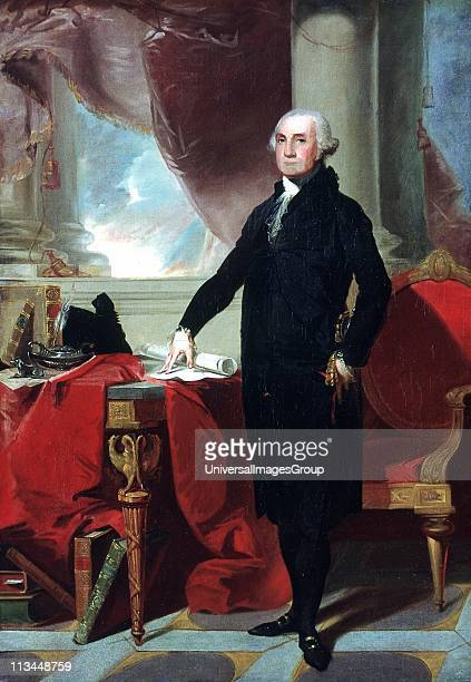 George Washington c1796 lst president of the America