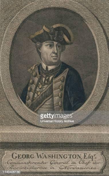 George Washington, Esqr., Commander General in Chief, Engraving.